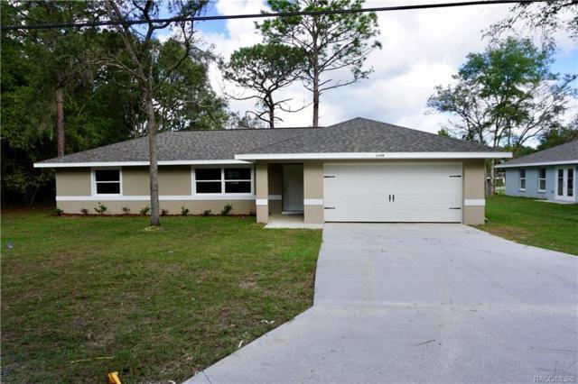 3784 E Ryan Street, Inverness, FL 34453 (MLS #778497) :: Plantation Realty Inc.