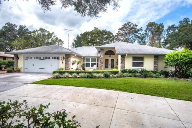 5106 S Pointe Drive, Inverness, FL 34450 (MLS #778607) :: Plantation Realty Inc.