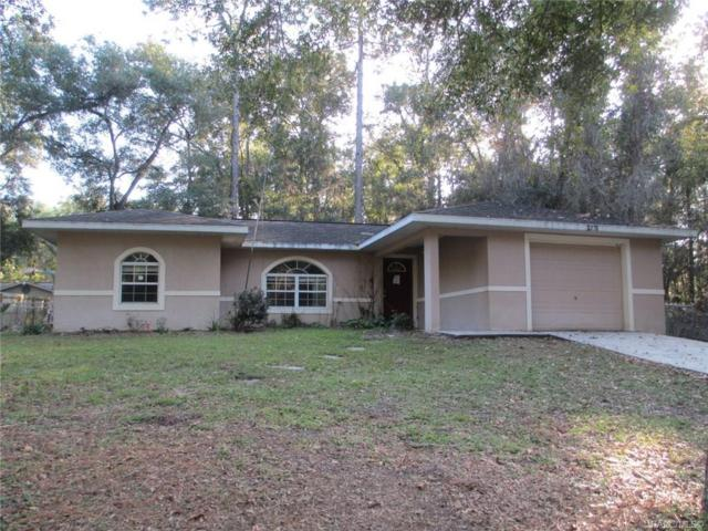 5976 E Carmel Lane, Inverness, FL 34452 (MLS #778905) :: Pristine Properties