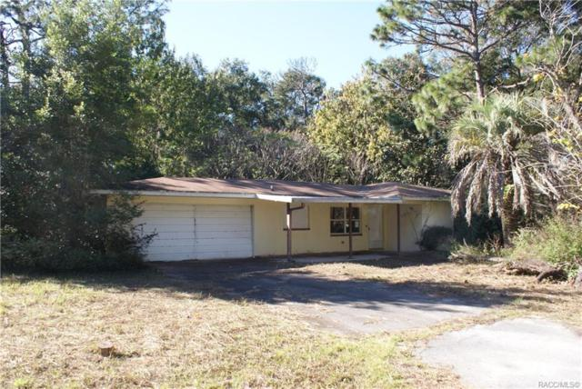 110 N Rooks Avenue, Inverness, FL 34453 (MLS #778934) :: Pristine Properties