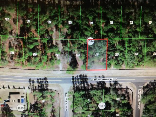 2909 W Hampshire Boulevard, Citrus Springs, FL 34433 (MLS #779012) :: Plantation Realty Inc.
