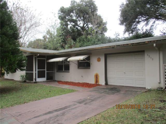 1210 W Bucknell Avenue, Inverness, FL 34450 (MLS #779072) :: Plantation Realty Inc.