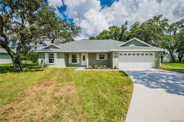465 N Bluejack Point, Lecanto, FL 34461 (MLS #779121) :: Plantation Realty Inc.