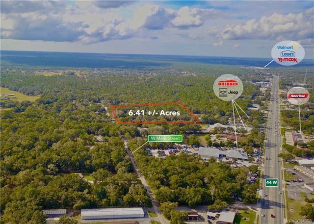 2322 W Main Street, Inverness, FL 34452 (MLS #779482) :: Pristine Properties