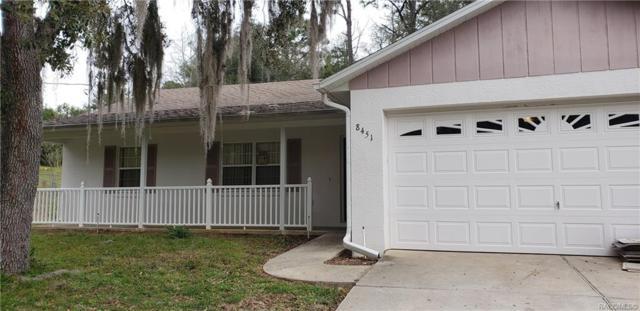 8451 N Titleist Drive, Citrus Springs, FL 34434 (MLS #779729) :: Plantation Realty Inc.