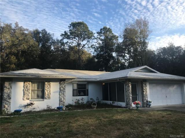 1885 W Water Lily Drive, Citrus Springs, FL 34434 (MLS #779809) :: Plantation Realty Inc.