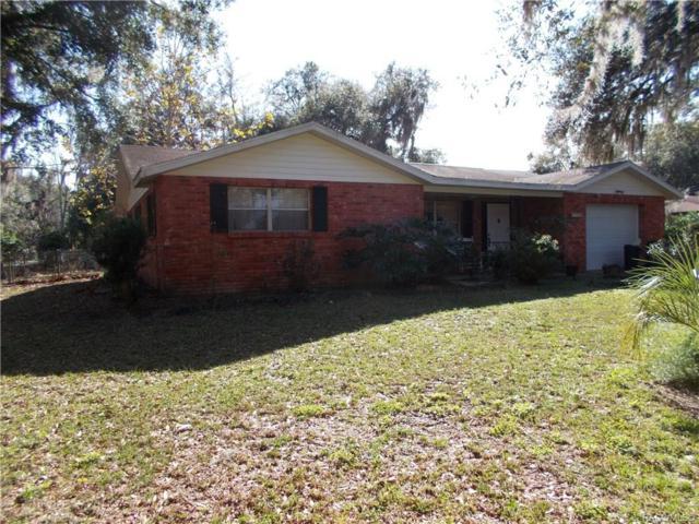 3886 E Parsons Point, Hernando, FL 34442 (MLS #779955) :: Plantation Realty Inc.