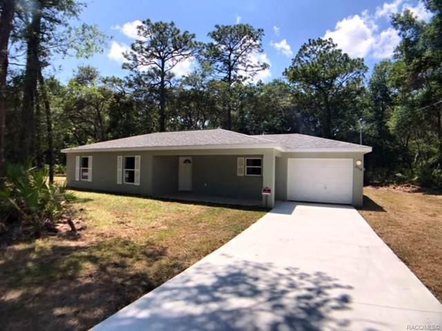 8518 N Hatfield Terrace, Crystal River, FL 34428 (MLS #780587) :: Plantation Realty Inc.