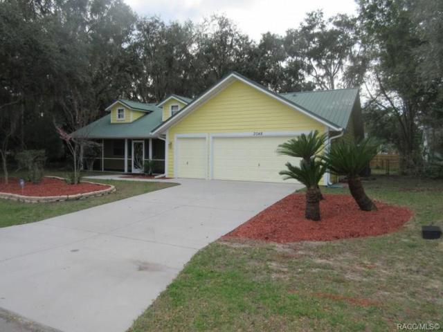 3048 S Franklin Terrace, Inverness, FL 34450 (MLS #780747) :: Plantation Realty Inc.