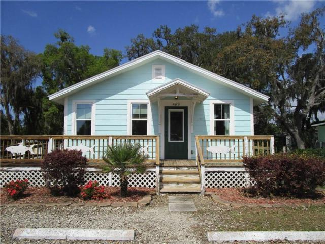 469 NE 1 Street, Crystal River, FL 34429 (MLS #781576) :: Plantation Realty Inc.