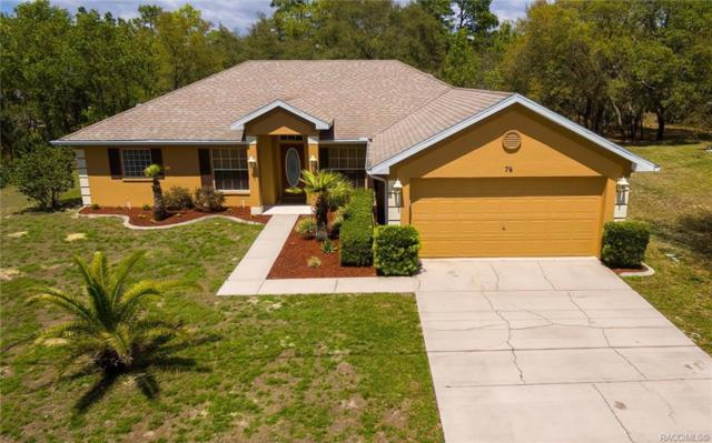 76 Lone Pine Street, Homosassa, FL 34446 (MLS #782268) :: Plantation Realty Inc.