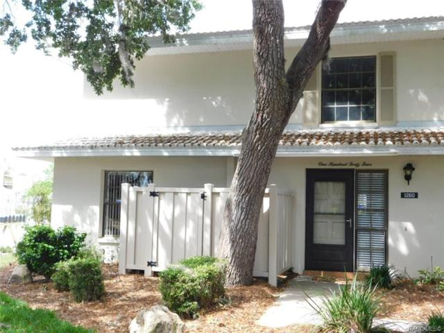 1260 N Seagull Point #144, Crystal River, FL 34429 (MLS #782348) :: Pristine Properties