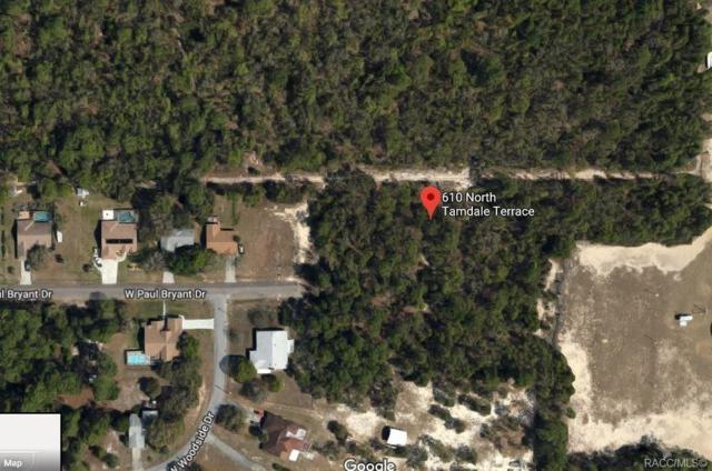 610 N Tamdale Terrace, Crystal River, FL 34461 (MLS #783673) :: Plantation Realty Inc.