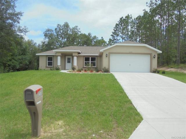 2666 W Dellwood Street, Citrus Springs, FL 34434 (MLS #783810) :: Plantation Realty Inc.