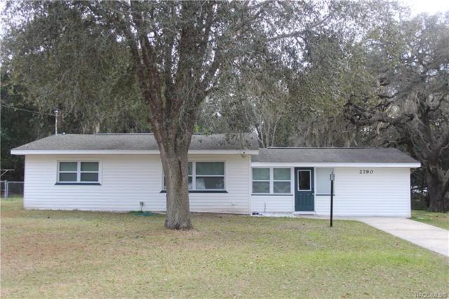 2790 W Ocala Street, Lecanto, FL 34461 (MLS #783921) :: Pristine Properties