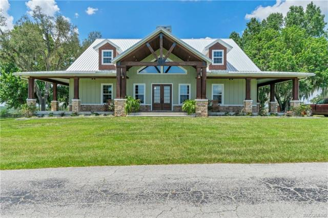 8281 S Pleasant Grove Road, Inverness, FL 34452 (MLS #783984) :: Plantation Realty Inc.