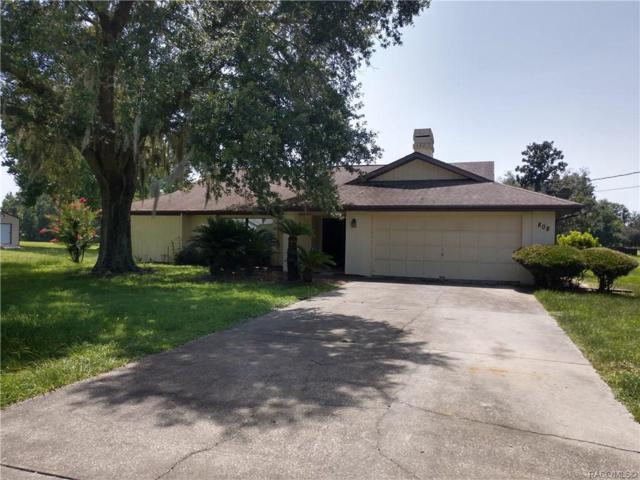 808 N Venturi Avenue, Crystal River, FL 34429 (MLS #784085) :: Plantation Realty Inc.