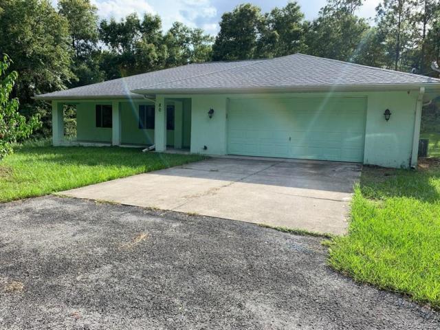 80 N Leona Point, Lecanto, FL 34461 (MLS #784479) :: Pristine Properties