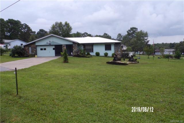 2236 W Janzin Lane, Lecanto, FL 34461 (MLS #785294) :: Plantation Realty Inc.