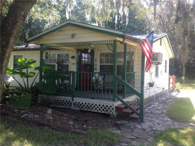 57 Riverside  Drive, Inglis, FL 34449 (MLS #786184) :: Pristine Properties