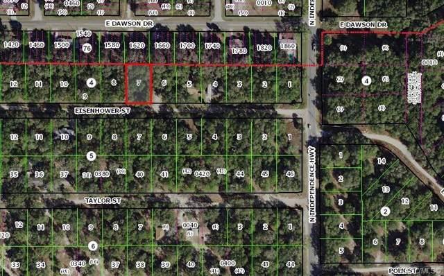 2812 Eisenhower Street W, Inverness, FL 34453 (MLS #786236) :: Team 54