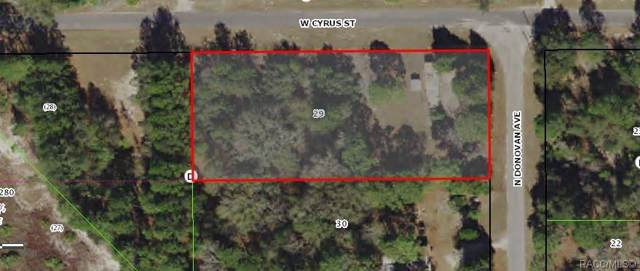 6638 W Cyrus Street, Crystal River, FL 34428 (MLS #786380) :: Plantation Realty Inc.