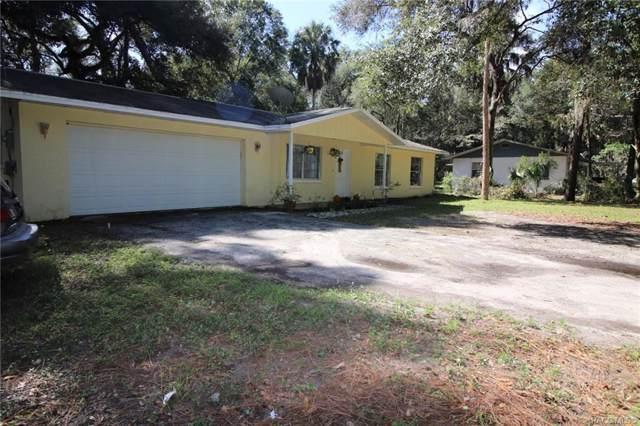 9690 W Hawthorne Street, Crystal River, FL 34428 (MLS #786555) :: Pristine Properties