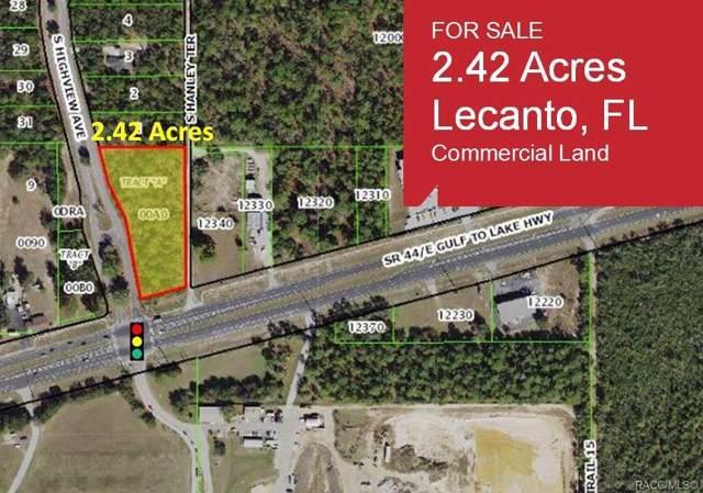 271 W Gulf To Lake Highway, Lecanto, FL 34461 (MLS #786597) :: Plantation Realty Inc.