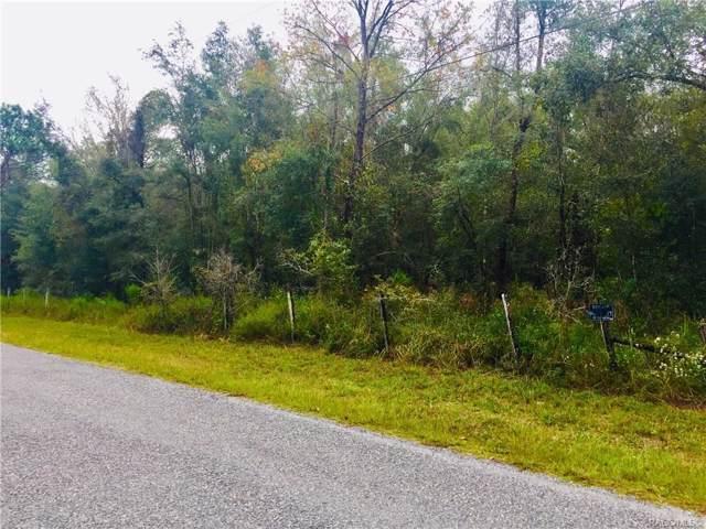 0 Angel Street, Brooksville, FL 34601 (MLS #786792) :: Plantation Realty Inc.