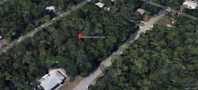 6646 E Hayden Lane, Inverness, FL 34452 (MLS #786818) :: Plantation Realty Inc.