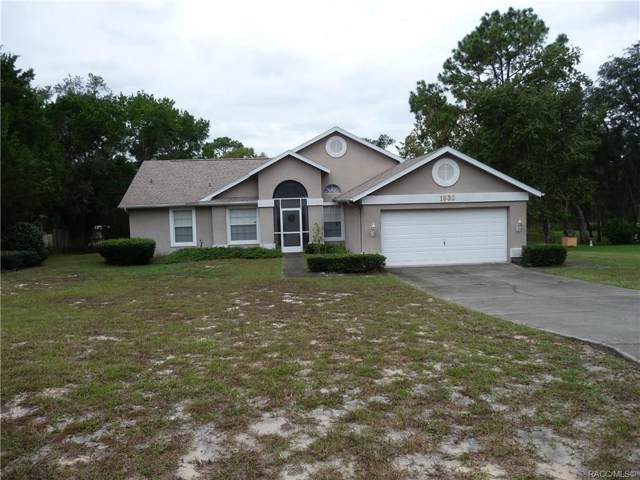 1932 S Campbell Point, Homosassa, FL 34448 (MLS #786822) :: Plantation Realty Inc.