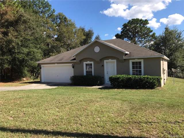 1020 W Drexel Place, Citrus Springs, FL 34434 (MLS #786942) :: 54 Realty