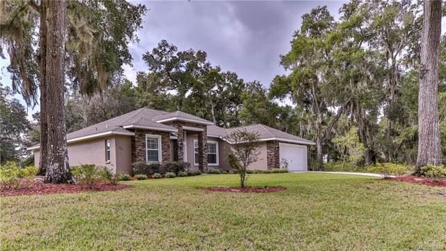493 W Cobblestone Loop, Hernando, FL 34442 (MLS #786969) :: Pristine Properties