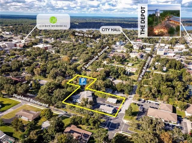 202 W Highland Boulevard, Inverness, FL 34452 (MLS #787311) :: Plantation Realty Inc.