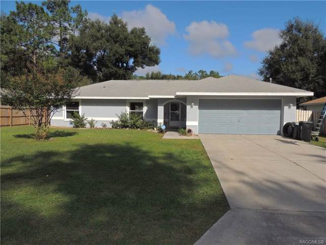 6121 E Loring Lane, Inverness, FL 34452 (MLS #787562) :: Pristine Properties