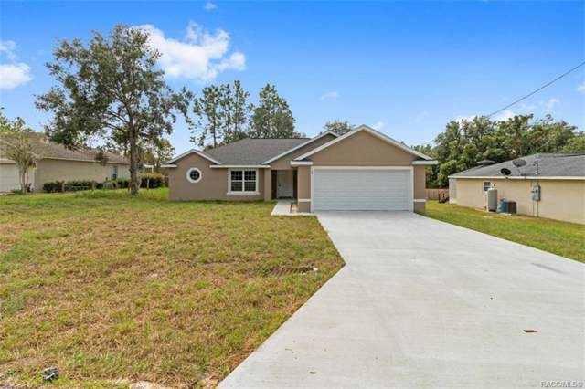 586 W Hummingbird Drive, Citrus Springs, FL 34434 (MLS #787596) :: Plantation Realty Inc.