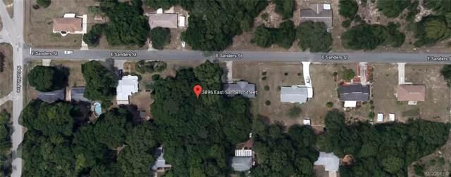3896 E Sanders Street, Inverness, FL 34453 (MLS #787799) :: Pristine Properties