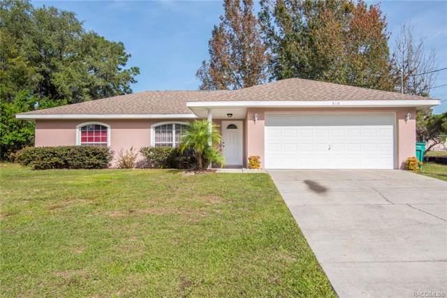 210 Edison Street, Inverness, FL 34452 (MLS #788033) :: Plantation Realty Inc.