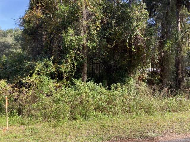 315 S Thompson Avenue, Lecanto, FL 34461 (MLS #788141) :: Plantation Realty Inc.