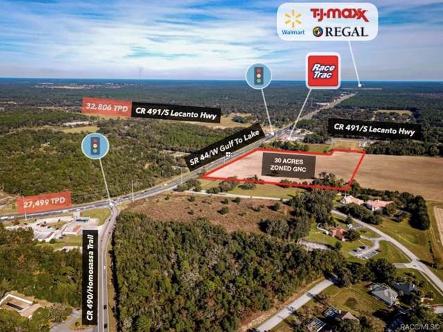 3440 W Gulf To Lake Highway, Lecanto, FL 34461 (MLS #788142) :: Plantation Realty Inc.