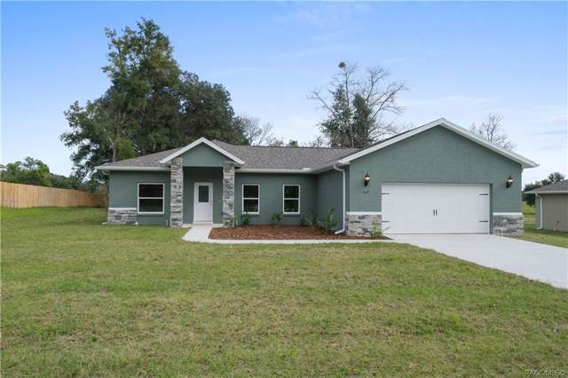 167 N Independence Highway, Inverness, FL 34453 (MLS #788237) :: Pristine Properties