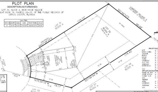 3592 N Burroughs Path, Beverly Hills, FL 34465 (MLS #788297) :: Plantation Realty Inc.