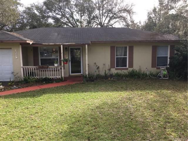 7824 E Savannah Drive, Floral City, FL 34436 (MLS #788969) :: Plantation Realty Inc.