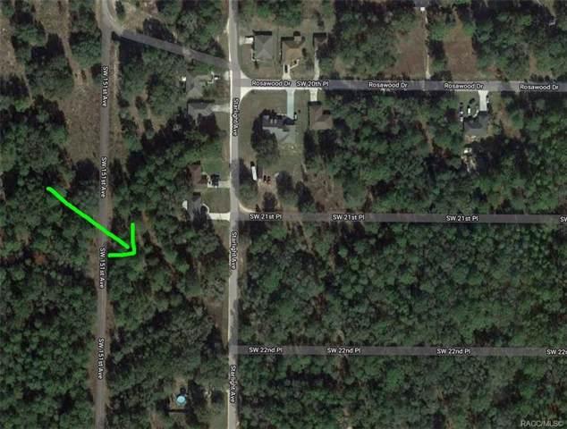 00 Sw 151st Avenue, Ocala, FL 34481 (MLS #789053) :: Plantation Realty Inc.