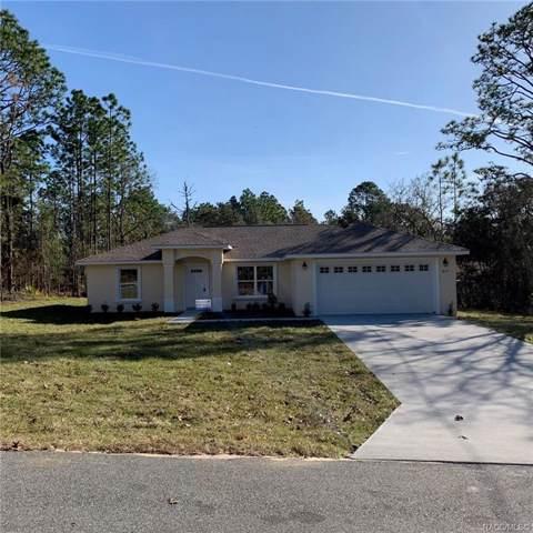 9171 N Paradisea Drive, Citrus Springs, FL 34434 (MLS #789054) :: 54 Realty