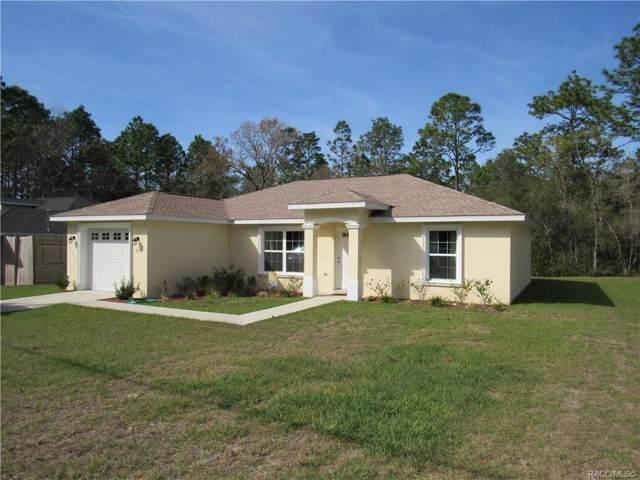 9270 N Marcus Way, Citrus Springs, FL 34433 (MLS #789073) :: 54 Realty