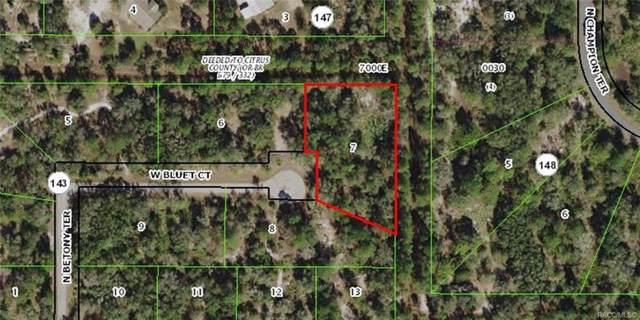 12141 W Bluet Court, Crystal River, FL 34428 (MLS #789088) :: Pristine Properties