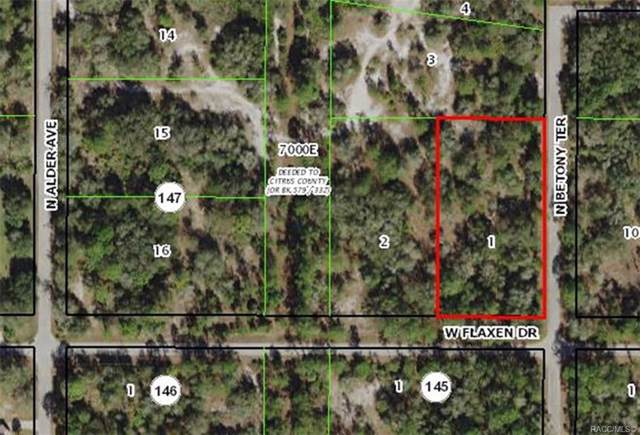 12257 W Flaxen Drive, Crystal River, FL 34428 (MLS #789135) :: Plantation Realty Inc.