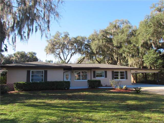 940 S Val Drive, Inverness, FL 34450 (MLS #789290) :: Plantation Realty Inc.