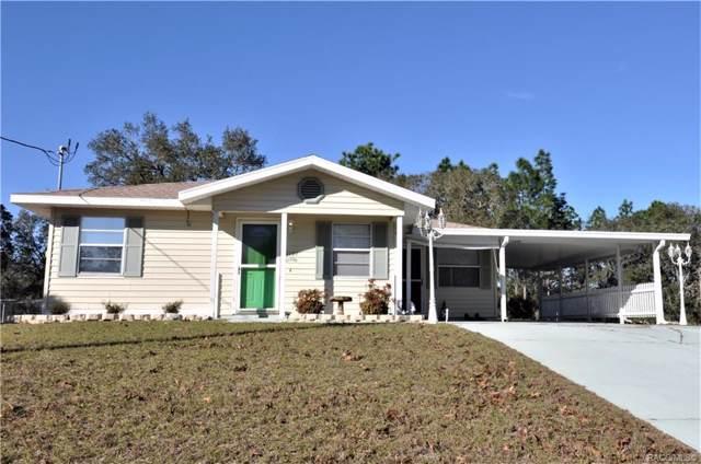 3197 W Montgomery Lane, Citrus Springs, FL 34433 (MLS #789294) :: Plantation Realty Inc.